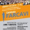 Caminata FARCAVI en el marco de la XXI edición de los Juegos Deportivos Farmacéuticos Nacionales