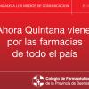 COMUNICADO DE PRENSA: Ahora Quintana viene por las farmacias de todo el país